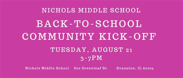 Community Back to School Kick-Off!