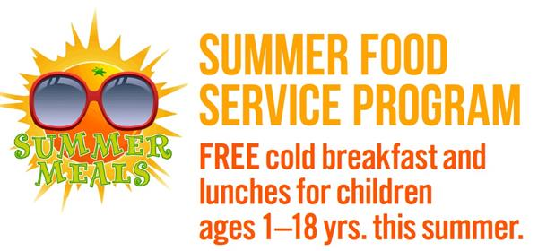 Free Breakfast & Lunch Over the Summer