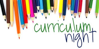 Curriculum Night! // Noche del Currículum Wednesday September 5, 6:30-8:00pm