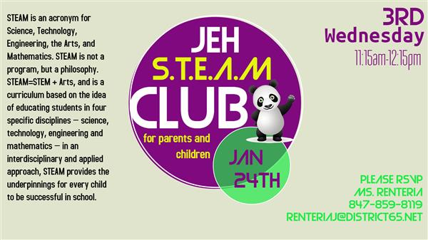 STEAM Club With Ms. Laura
