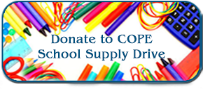 Donate to COPE School Supply Drive