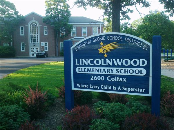 Lincolnwood Elementary School Sign