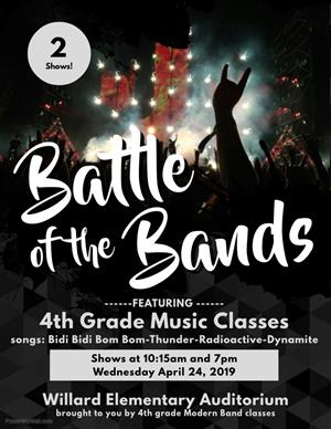 Battle of Band 4th Eng