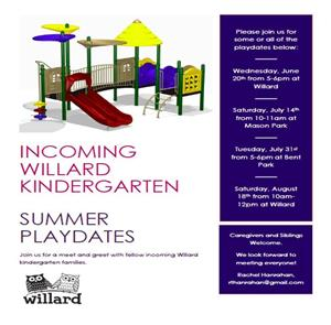 Playdate reminder- english