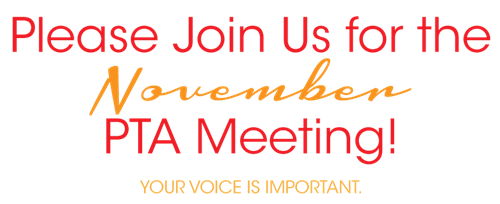 Nov PTA meeting