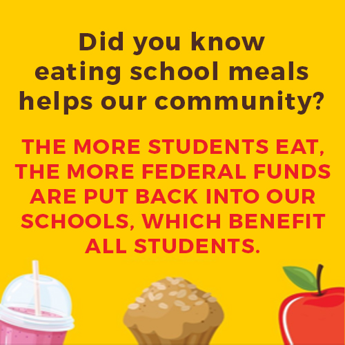 Did you know eating school meals helps our community?