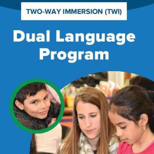 Click here to learn more about our Two-Way Immersion Program and which schools offer this globally-