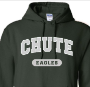 Chute Spirit Wear has a new site!   Everyone can now order Chute spirit wear 365 days a year through our new online store! Check out the new products! Click here for more info!