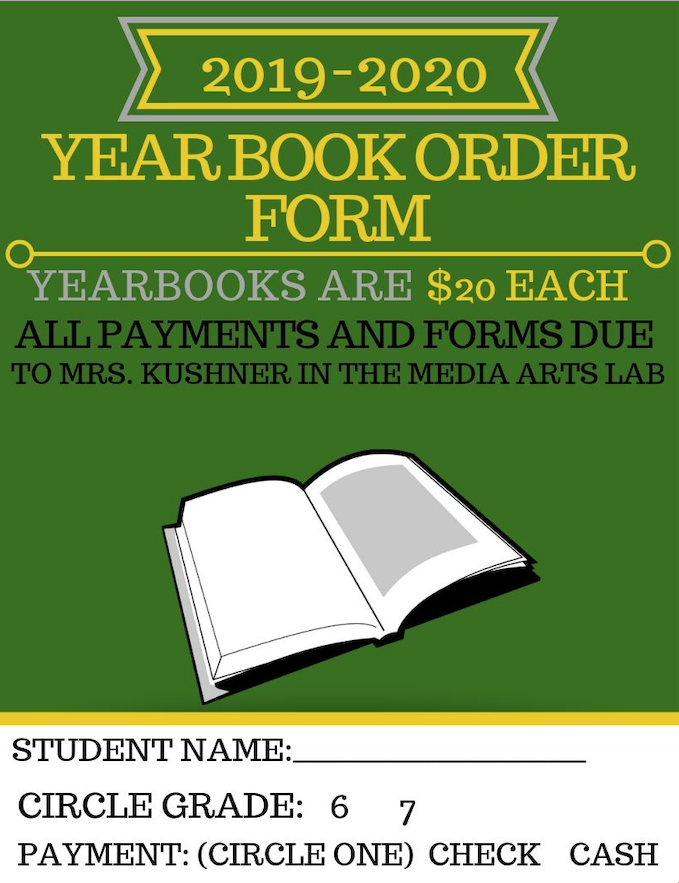 Order your 2019-2020 Chute Yearbook Today! We are still accepting yearbook orders!  Contact Mrs. Kushner at kushners@district65.net to reserve yours today!