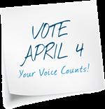 Vote April 4